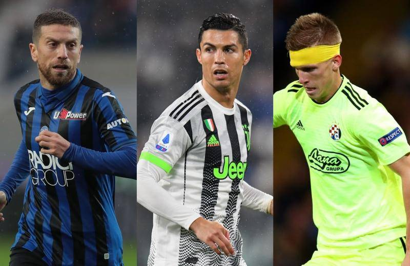 Champions, Juventus Atletico Madrid e Atalanta Dinamo