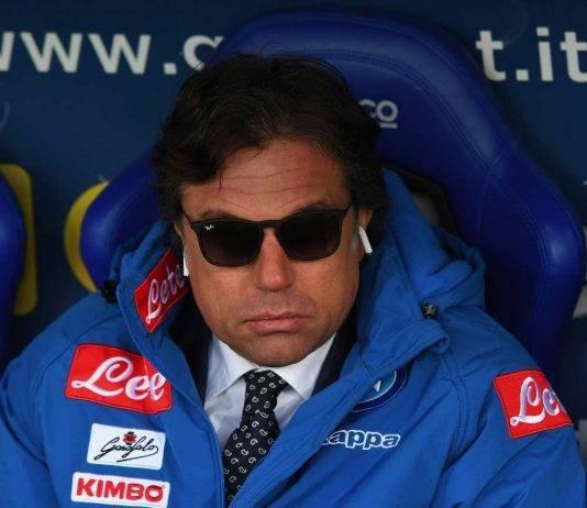 Cristiano Giuntoli calciomercato Napoli