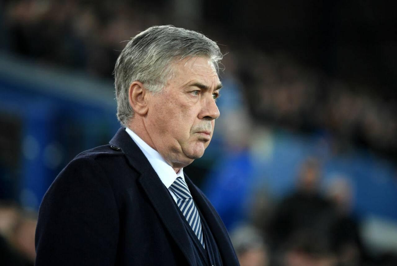 Ancelotti Everton Premier