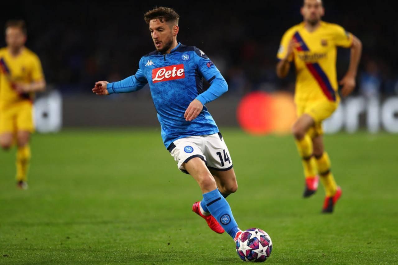 Calciomercato Inter Napoli Mertens