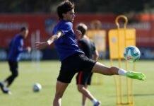Atletico, infortunio per Joao Felix