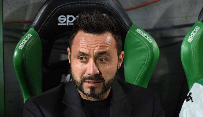 Calciomercato Sassuolo, ufficiale: rinnovo contratto De Zerbi fino al 2021