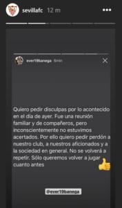 Siviglia, le scuse di Banega