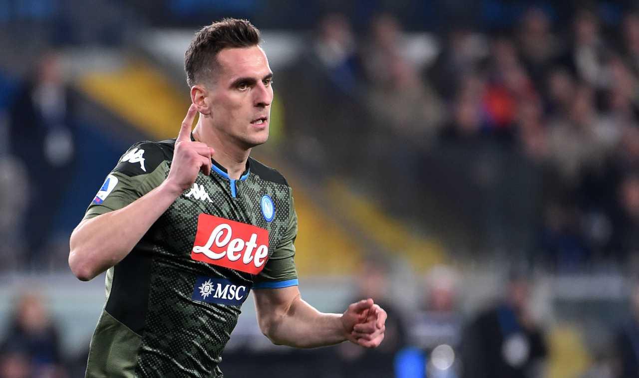 Calciomercato Roma Napoli Milik Under Veretout