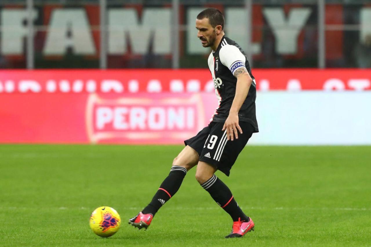 Juventus-Milan, le parole di Bonucci