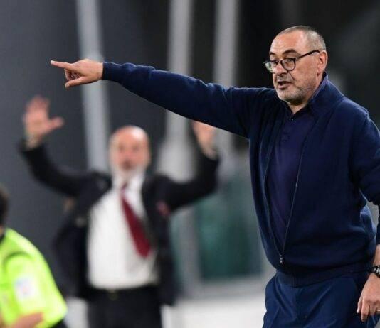 Juventus-Milan, le parole di Maurizio Sarri