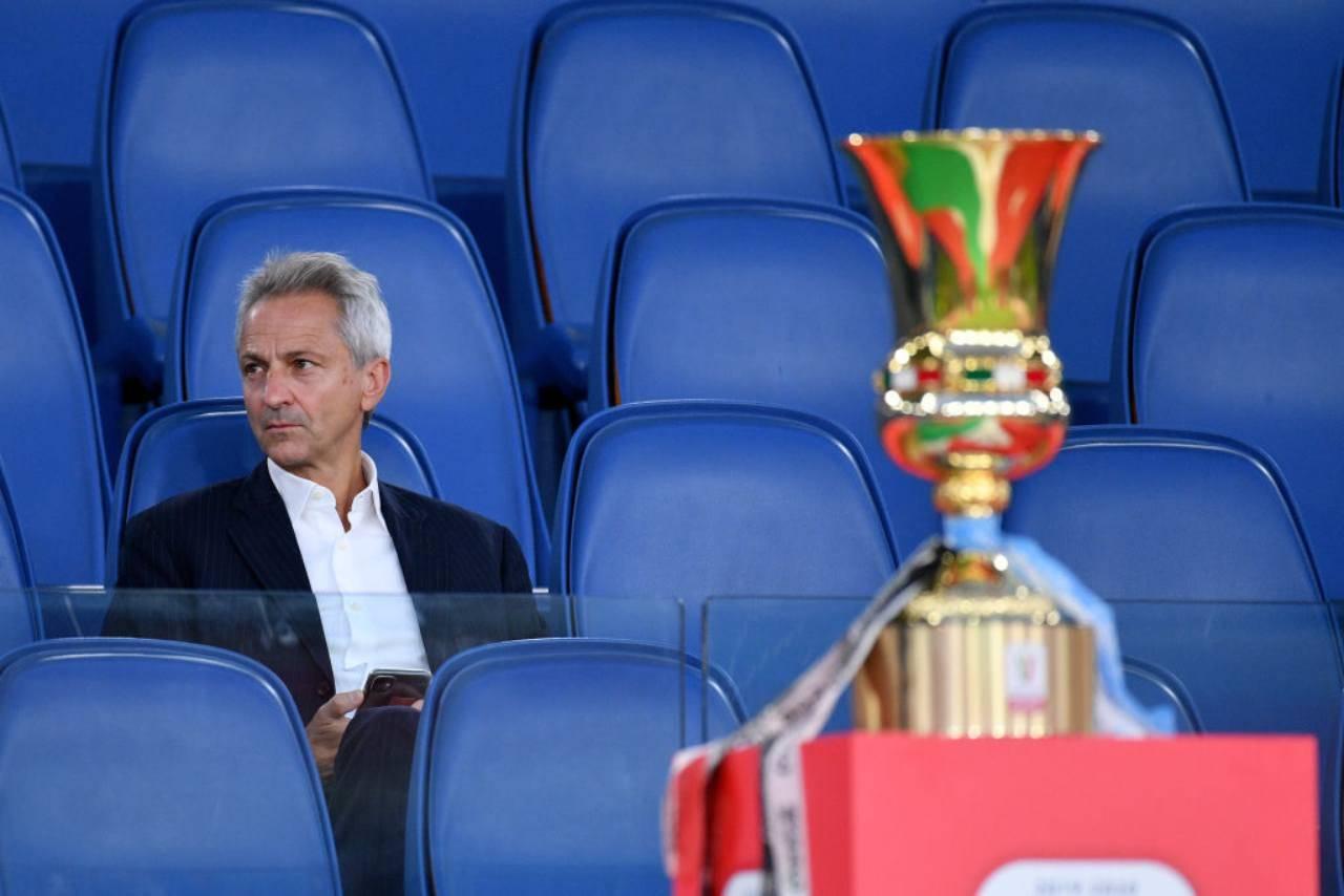 Serie A, slittino all'inizio del campionato: l'annuncio di Dal Pino