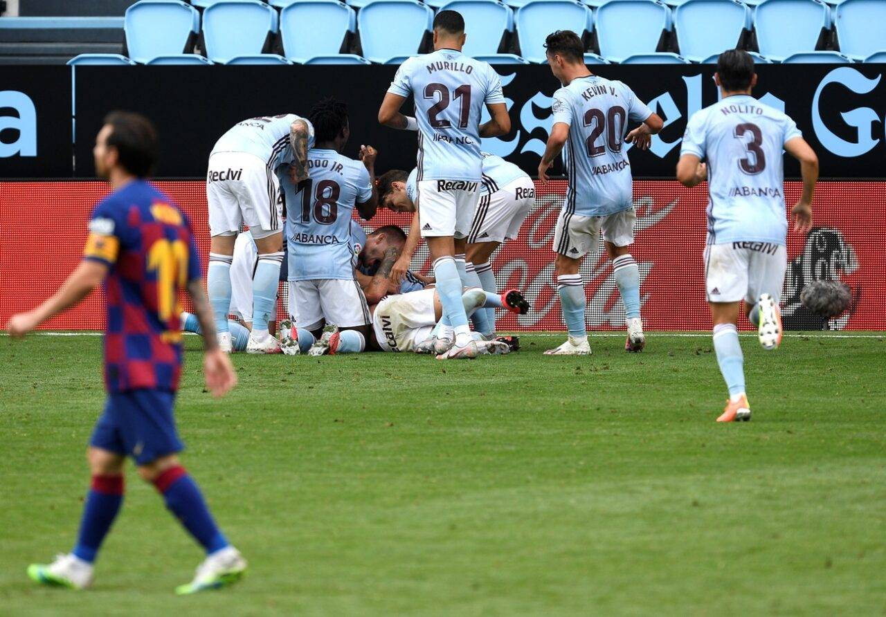 Liga, Celta Vigo-Barcellona 2-2: non basta Suarez, catalani rimontati