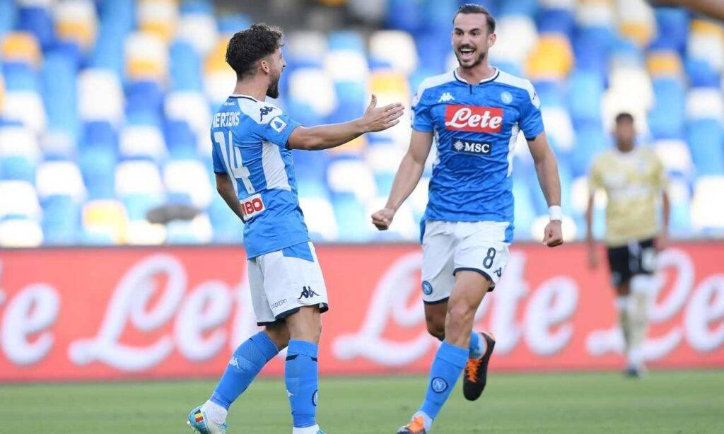Fabian Ruiz pagelle Napoli Spal