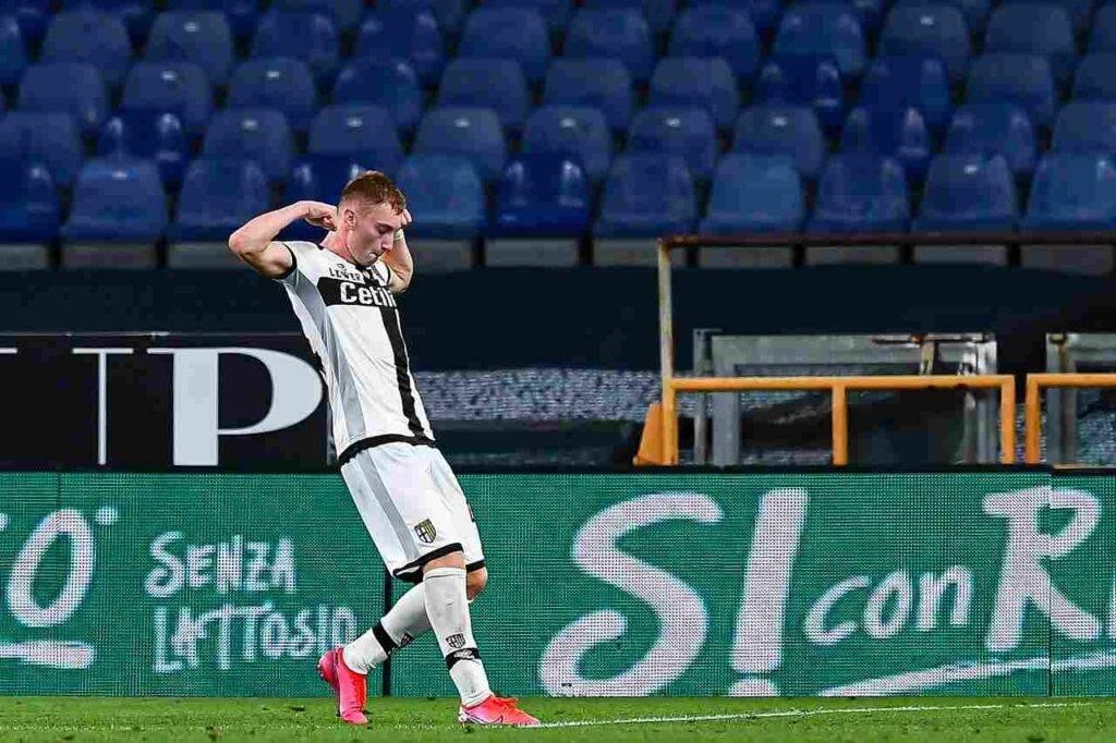 Calciomercato Juventus, Kulusevski chiuderà la stagione al Parma: c'è l'accordo
