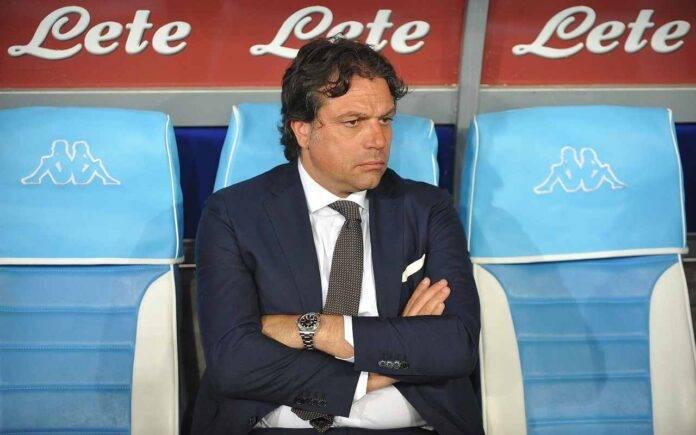 Calciomercato Napoli Giuntoli Candreva Inter