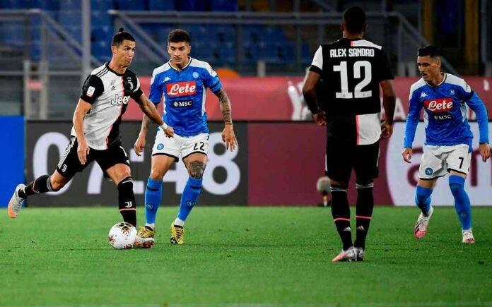 Napoli Juventus diretta