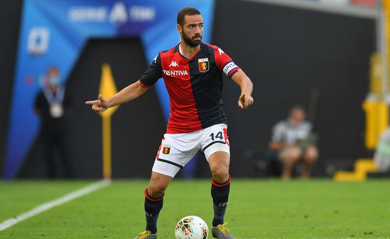 Biraschi pagelle Genoa Napoli