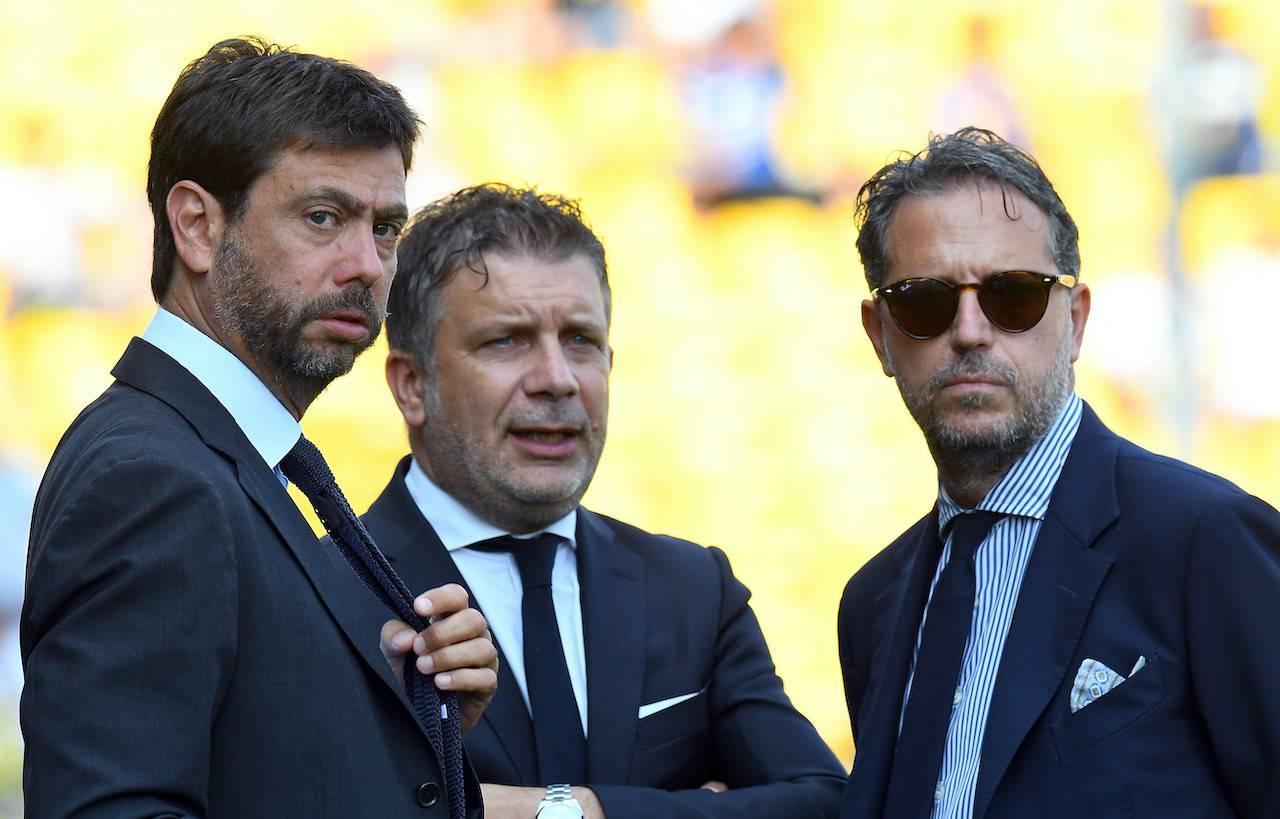 Calciomercato Juventus Agnelli Paratici Chiesa