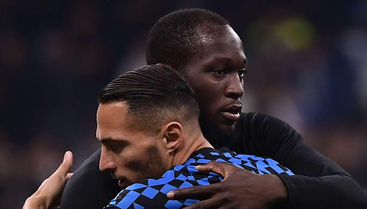 D'Ambrosio pagelle Inter Napoli