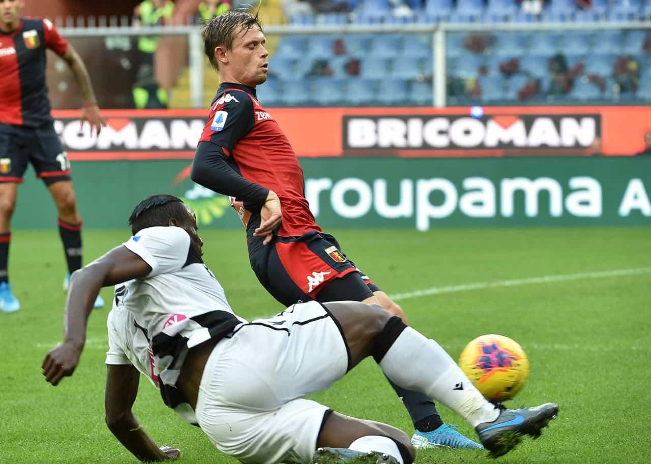 Udinese Genoa: pagelle, assist e voti per il fantacalcio