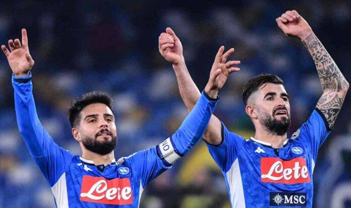 Hysaj Insigne pagelle Napoli Sassuolo