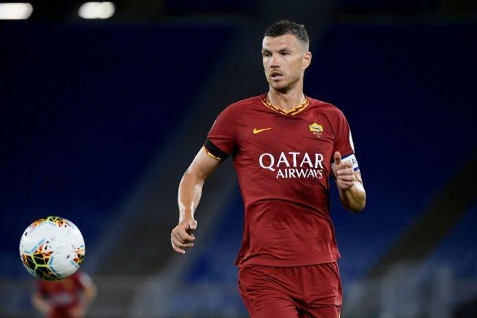 Calciomercato Roma Dzeko Juventus