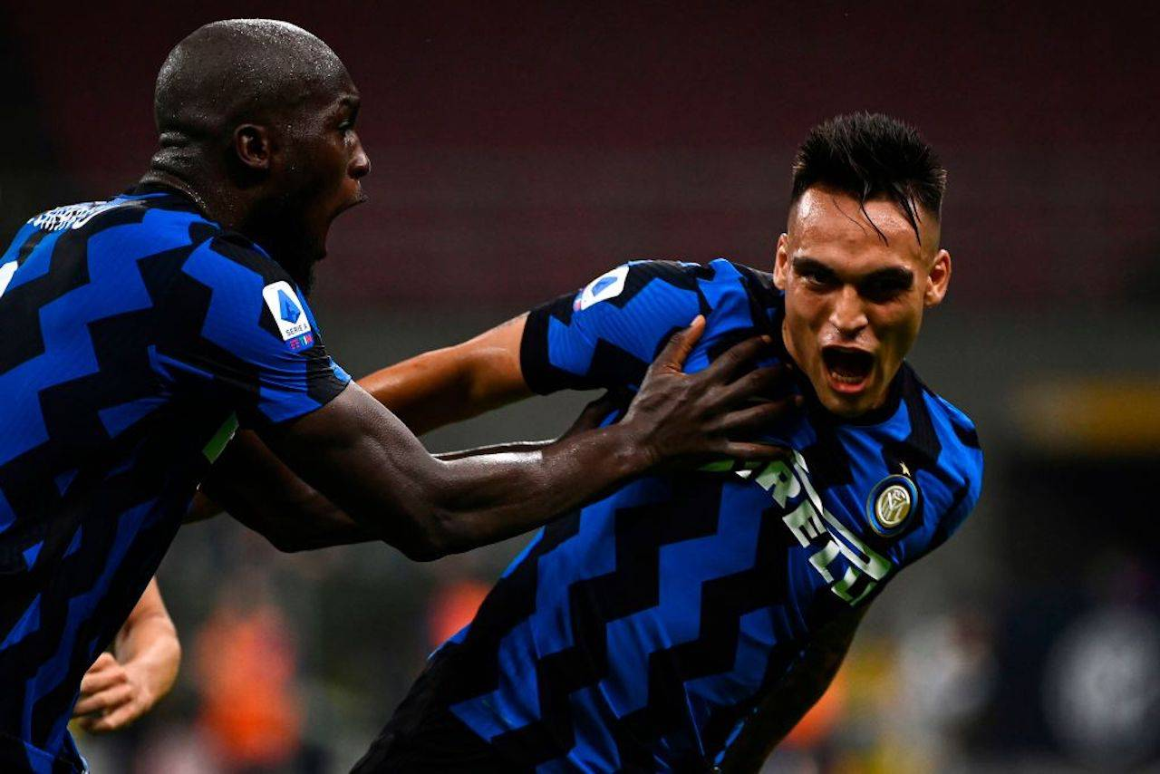 Lautaro Martinez Inter-Napoli