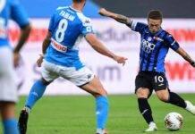 Gomez pagelle Atalanta Napoli
