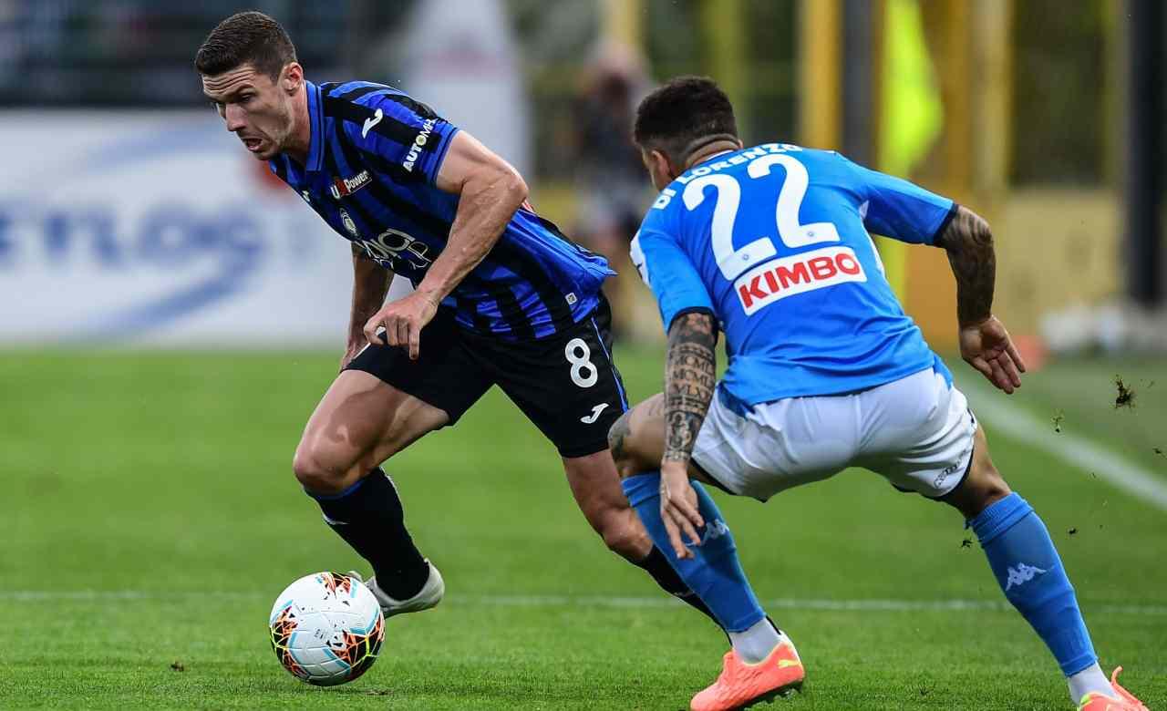 Gosens pagelle Atalanta Napoli