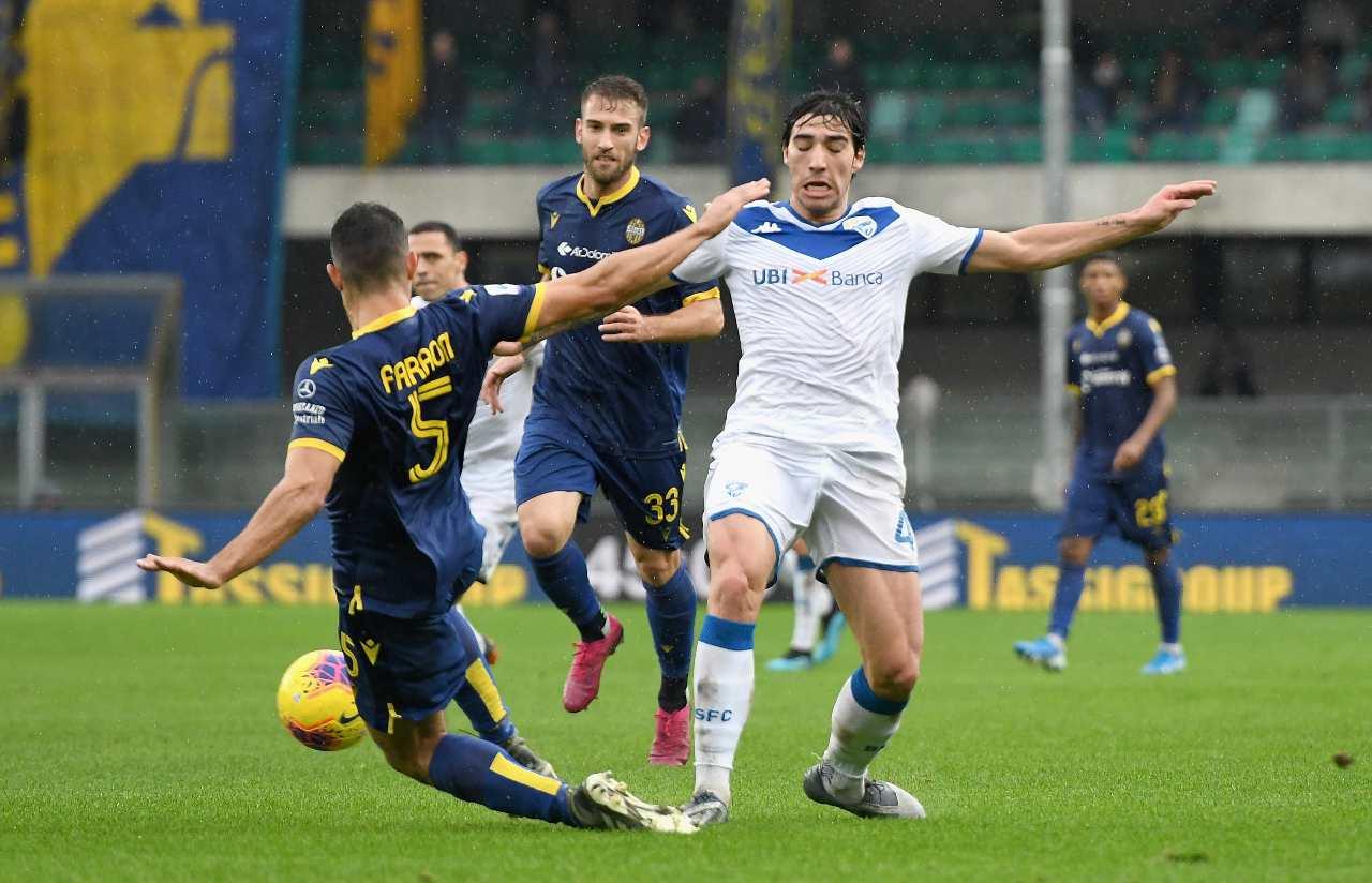 Milan pressing per Sandro Tonali