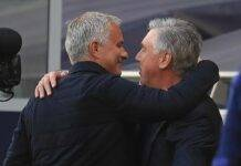 abbraccio mourinho ancelotti