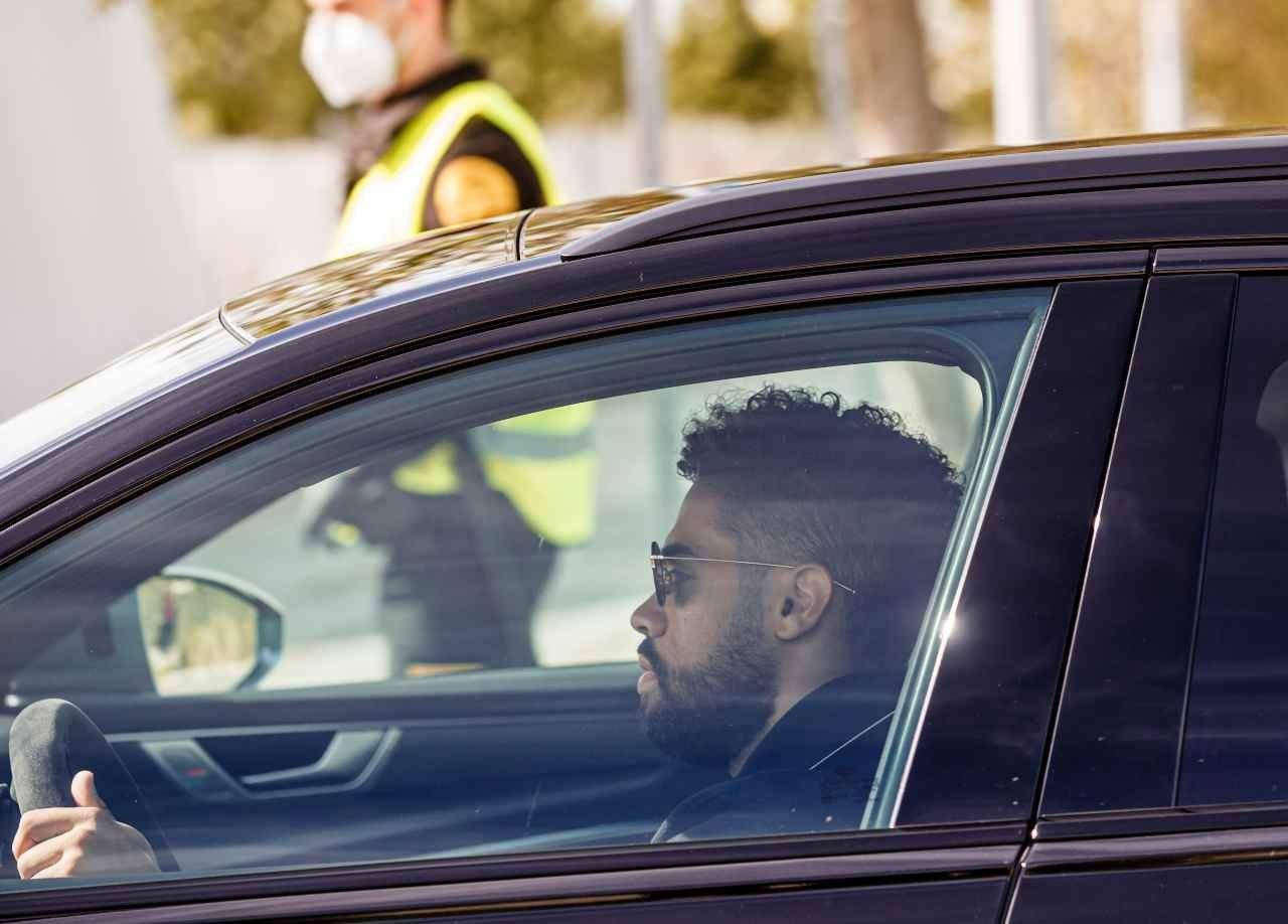 Mariano Diaz del Real Madrid positivo al coronavirus