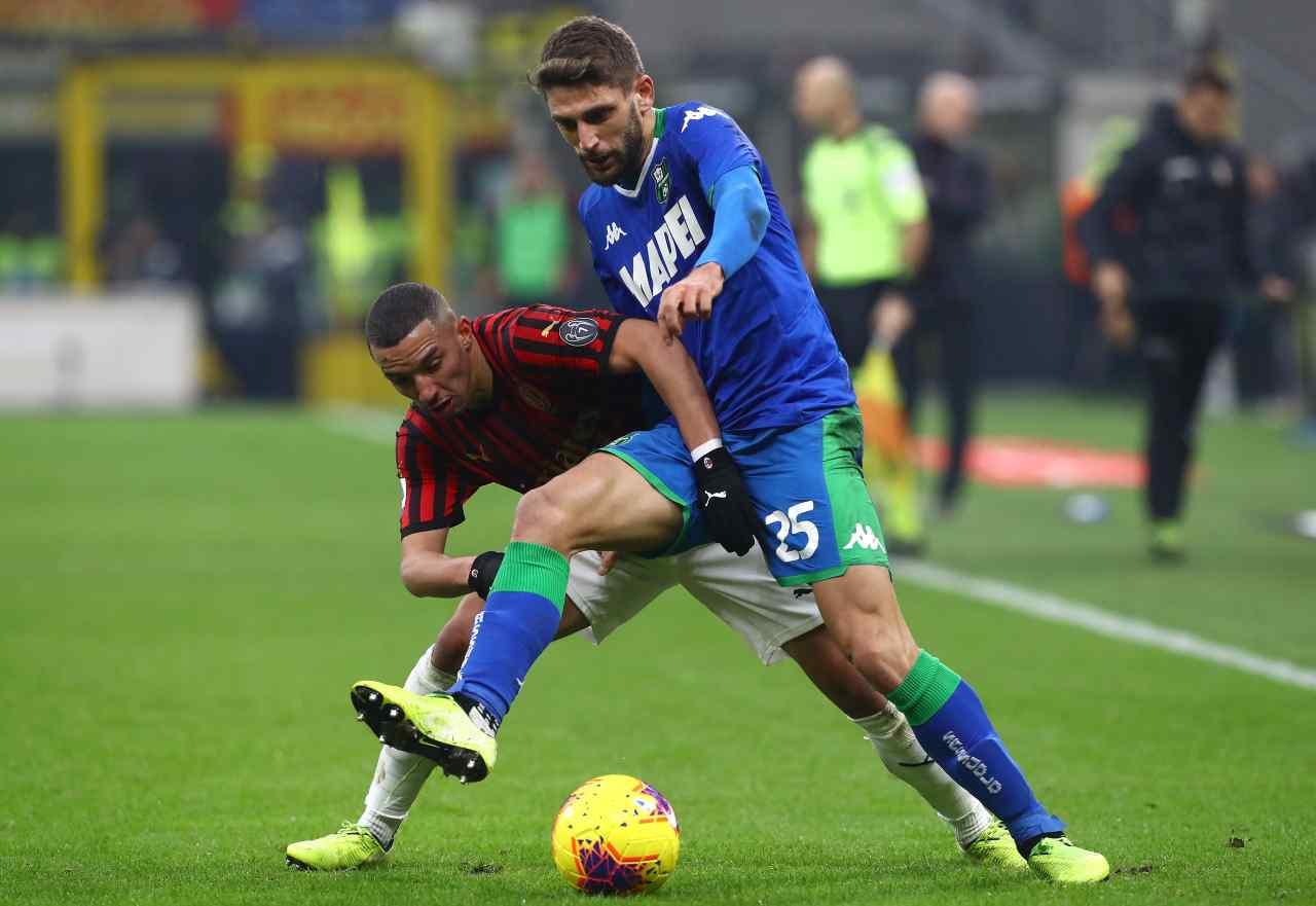Diretta Serie A Sassuolo Milan Cronaca Live Tempo Reale Formazioni