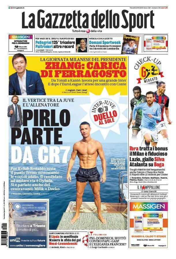 gazzetta dello sport 14 agosto