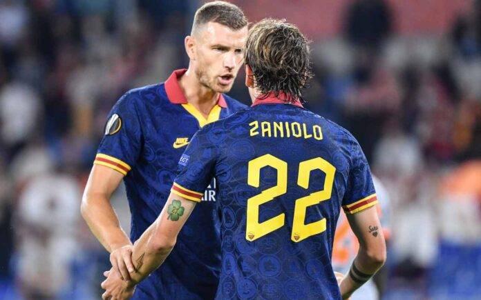 Juventus Roma Dzeko Zaniolo