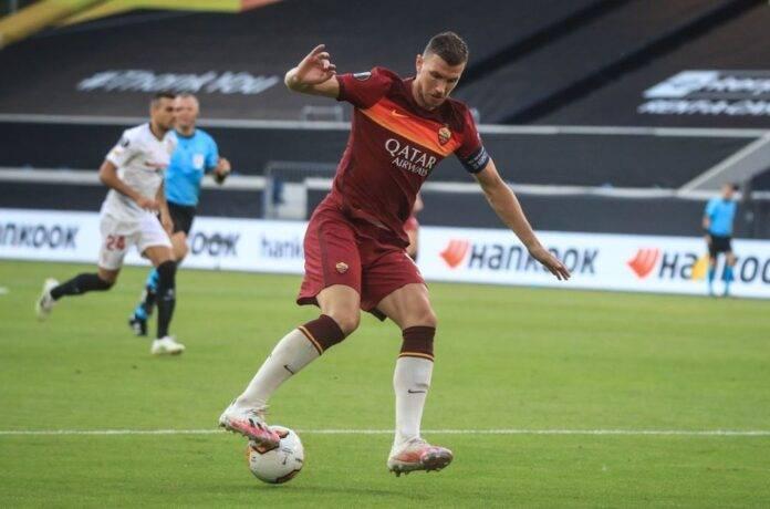 Calciomercato Roma Dzeko Milik