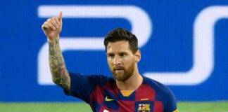 Messi Barcellona Manchester City
