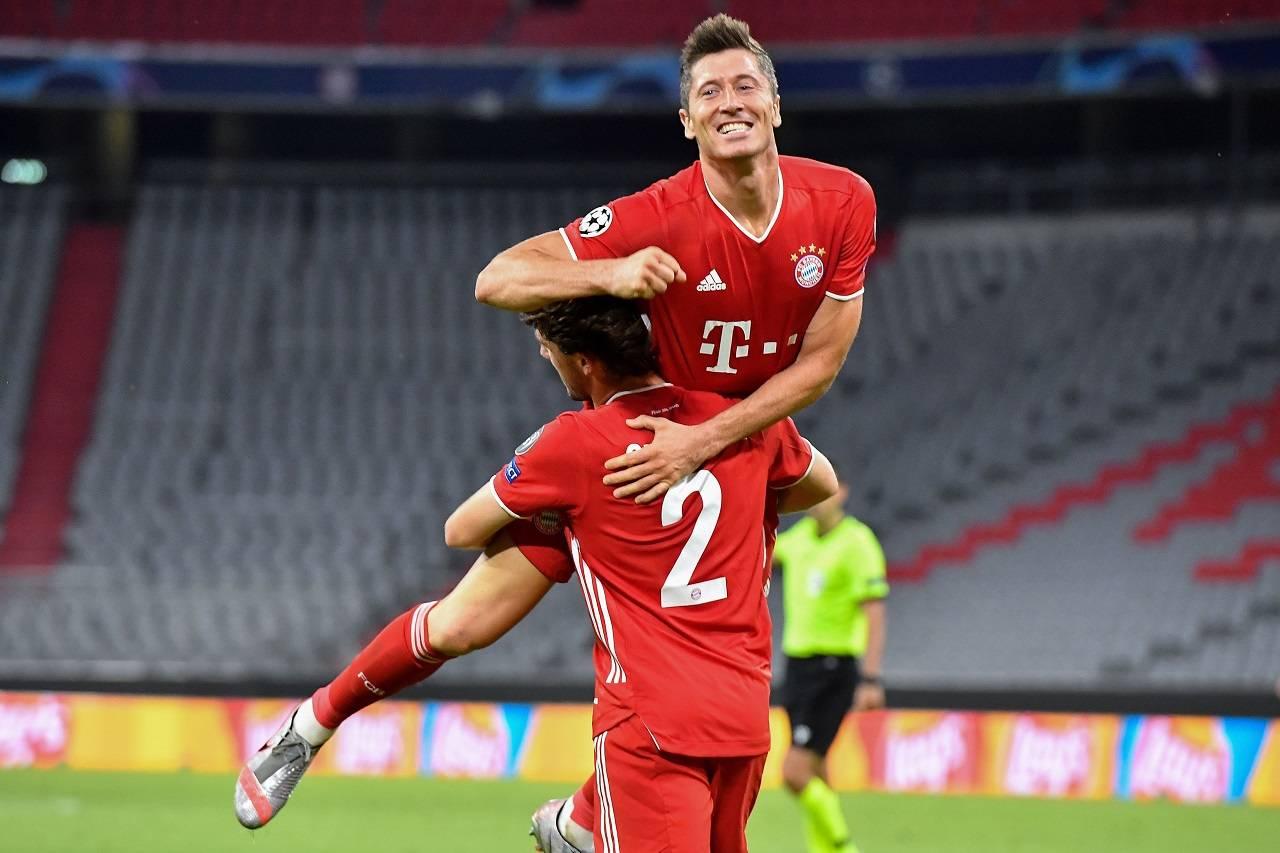 Diretta Barcellona Bayern Lewandowski
