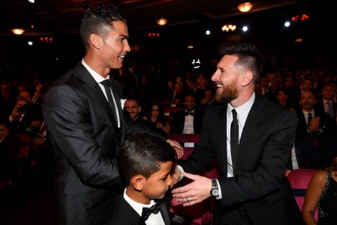 Ronaldo e Messi Insieme
