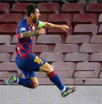 Messi pagelle Barcellona Napoli