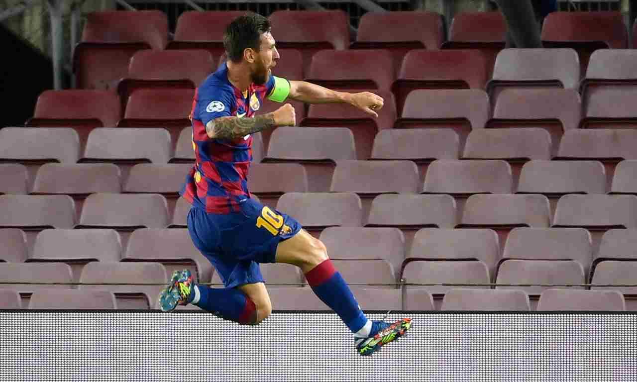 Messi Inter a zero