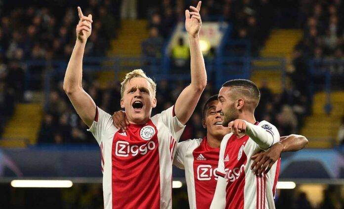 Van de Beek Ajax United