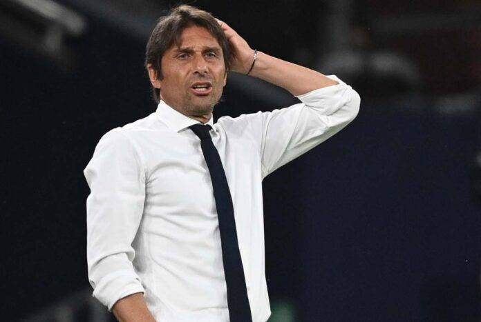 infortunio Vidal Conte Inter