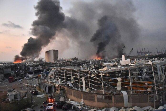 libano beirut esplosione vittime