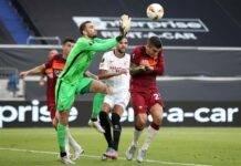 pau lopez siviglia roma europa league pagelle