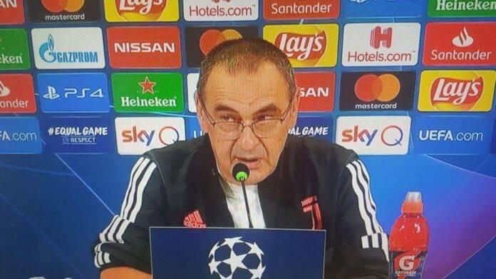Sarri Juventus Lione
