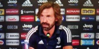 Roma-Juventus conferenza stampa Pirlo su Morata, Ronaldo e formazione