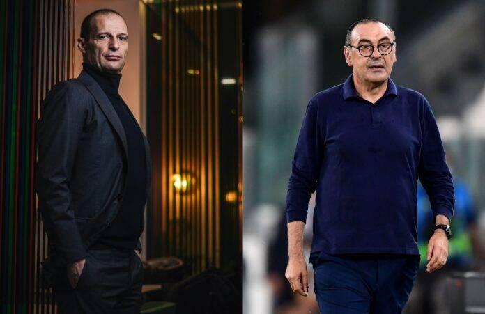 Allegri Sarri Calciomercato Roma