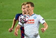 Milik Napoli Tottenham
