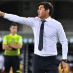 Fonseca dichiarazioni Roma-Juve
