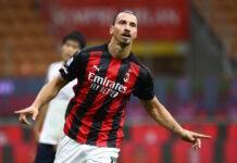 Zlatan Ibrahimovic voti Milan Bologna