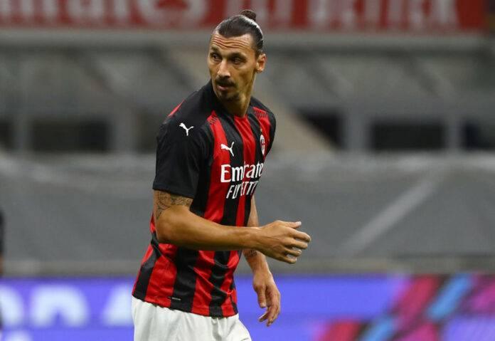 Zlatan Ibrahimovic infortunio Milan