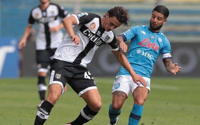 Insigne Inglese pagelle Parma Napoli