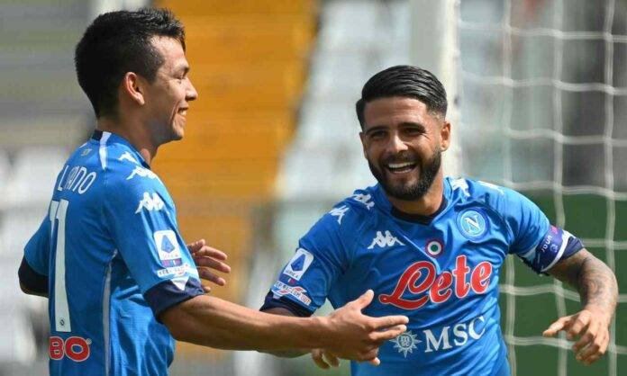 Insigne Lozano pagelle Parma Napoli